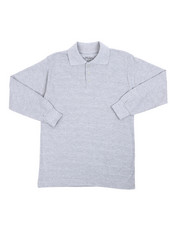 Polos - L/S Solid Polo P0lo (8-20)-2419907