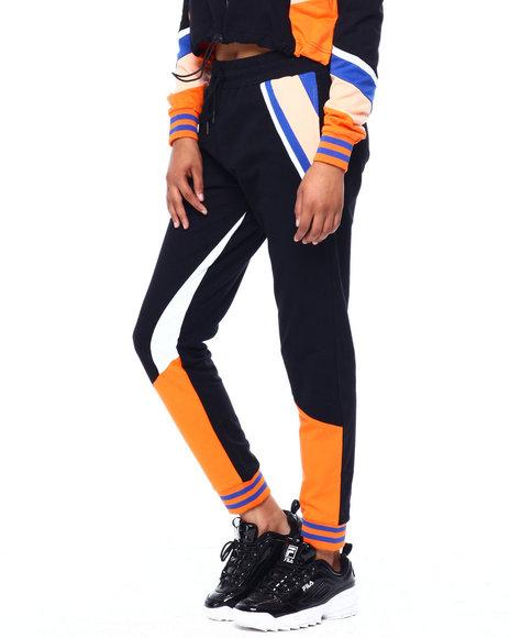 CAMP - Stripe Colorblock Jogger