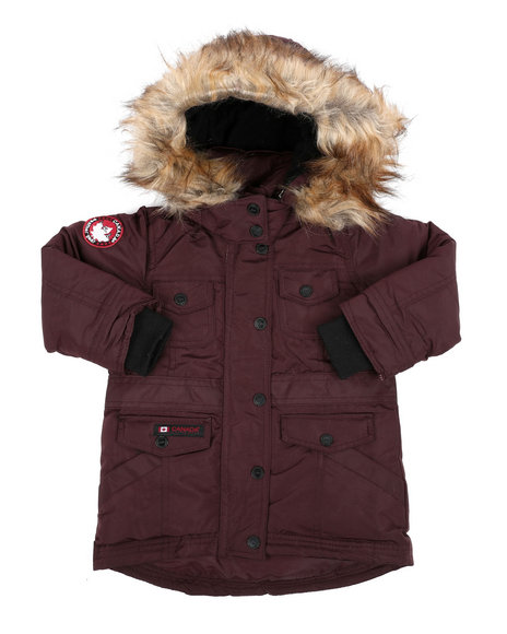 Canada Weather Gear - Canadian Weather Puffer Jacket (2T-4T)