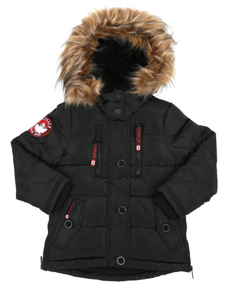 Canada Weather Gear - Canadian Weather Puffer Jacket (4-6X)