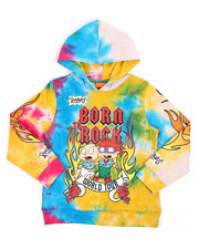 Sizes 4-7x - Kids - Rugrats Born To Rock Hoodie (8-18)-2420239