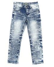 Arcade Styles - Moto Denim Stretch Jeans (4-7)-2419049