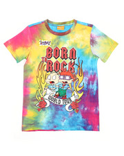 Looney Tunes - Rugrats Born To Rock Tee (8-18)-2420141
