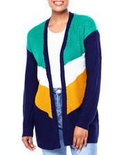Sweaters - Chevron L/S Shaker Cardigan-2419937