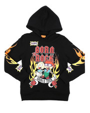 Hoodies - Rugrats Born To Rock Hoodie (8-18)-2420274
