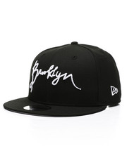 New Era - 9Fifty Brooklyn Script Snapback Hat-2418057