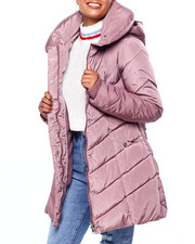 Steve Madden - SM Pillow Collar Hooded Puffer-2420383