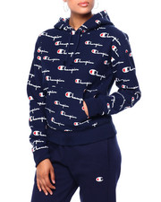 Champion - Reverse Weave Pullover Hood-All Over Print-2420198