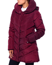 Steve Madden - SM Pillow Collar Hooded Puffer-2420378