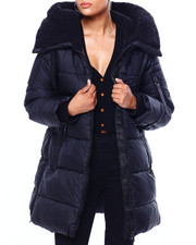 Steve Madden - SM Long Bubble Jacket W/ Side Zipper-2420403