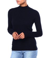 Sweaters - Miracash Mock Nk L/S Pullover-2420050