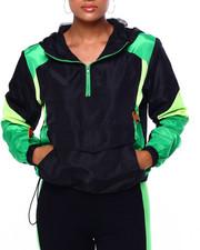 Athleisure for Women - Half Zip Colorblock Windbreaker-2420131