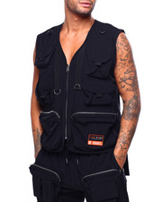 Vests - UTILITY MUTLI POCKET VEST-2420620