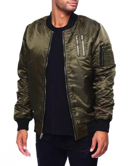 Buyers Picks - Bomber Jacket  w Zipper Detail