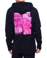 HUF - VIRTUAL REALITY HOODIE-2420006