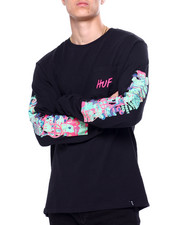 HUF - SHORT TERM LS POCKET TEE-2419986
