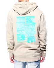 HUF - VIRTUAL REALITY HOODIE-2420079