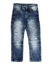 Arcade Styles - Moto Denim Jeans (4-7)-2421092