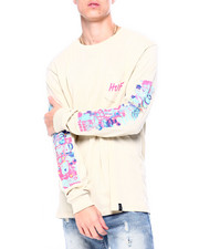 HUF - SHORT TERM LS POCKET TEE-2420630