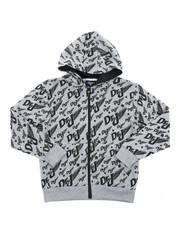 Sizes 8-20 - Big Kids - All Over Printed Fleece Hoodie (8-20)-2420543