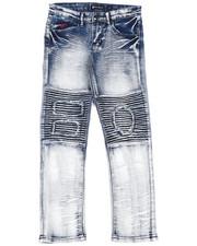 Bottoms - Fashion Moto Denim Jeans (8-18)-2420839