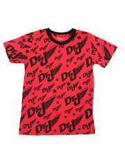 T-Shirts - All Over Graphic S/S Tee (8-20) -2420528