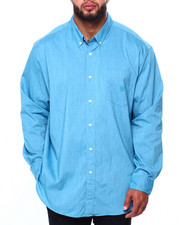 Chaps - EC Stretch-Long Sleeve-Sport Shirt (B&T)-2419950