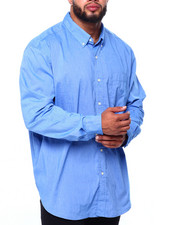Chaps - EC Stretch-Long Sleeve-Sport Shirt (B&T)-2419927