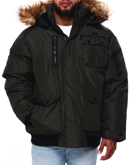 Rocawear - Parka Bomber Jacket (B&T)