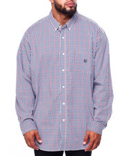 Chaps - EC Stretch-Long Sleeve-Sport Shirt (B&T)-2419758