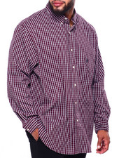 Chaps - EC Stretch-Long Sleeve-Sport Shirt (B&T)-2419764