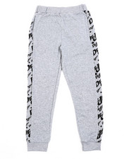 Sizes 8-20 - Big Kids - Fleece Printed Joggers (8-20)-2420513