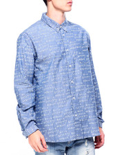 Mens-Fall - BDR CHAMBRAY SHIRT-2420569