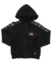 Hoodies - Full Zip Fleece Hoodie W/ Poly Taped (4-7)-2421619