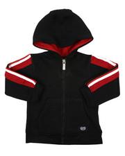 Hoodies - Full Zip Fleece Hoodie W/ Poly Taped (2T-4T)-2421598