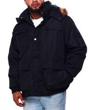 Big & Tall - Heavy Weight Short Parka Jacket (B&T)-2421256