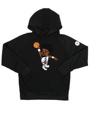 Sizes 8-20 - Big Kids - Pullover Fleece Hoodie w/Chenille Patch (8-20)-2420518
