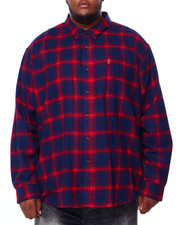 Chaps - Flannel Long Sleeve Sport Shirt (B&T)-2420423