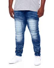 Men - Moto Jean W/ Knee Treatment (B&T)-2411666