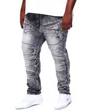 Jeans & Pants - Moto Jean W/ Knee Treatment (B&T)-2411645