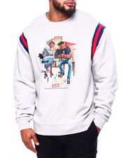 Men - Cram Crew L/S Tee (B&T)-2421376