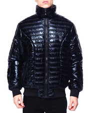 Mens-Fall - Metallic Padded Jacket-2421062