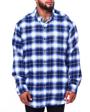 Chaps - Flannel Long Sleeve Sport Shirt (B&T)-2420443