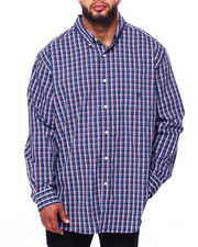 Chaps - EC Stretch-Long Sleeve-Sport Shirt (B&T)-2419781