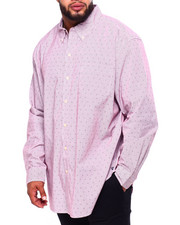 Chaps - EC Stretch-Long Sleeve-Sport Shirt (B&T)-2419911