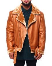 Outerwear - Faux Shearling Jacket (B&T)-2421279