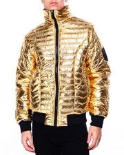 Mens-Fall - Metallic Padded Jacket-2420985