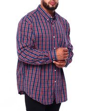Chaps - Stretch Easy Care H-EC Stretch L/S Sport Shirt (B&T)-2419791