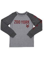 Zoo York - Raglan Graphic Tee (8-20)-2421566