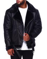 Outerwear - Faux Shearling Jacket (B&T)-2421288
